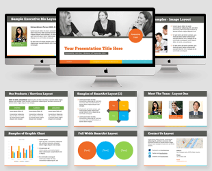 business powerpoint templates | create elegant business slides easily, Presentation templates