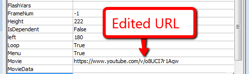 Change youtube video URL for powerpoint - Embed youtube video to PowerPoint step 9
