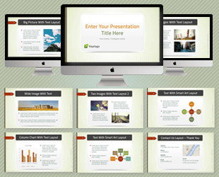 Professional powerpoint templates download for easy slide design green business powerpoint template toneelgroepblik Gallery