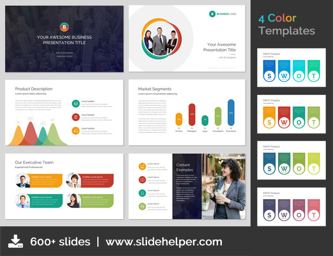Modern business presentation templates professional powerpoint layouts