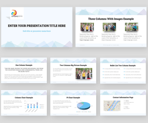 Siyera PowerPoint template preview