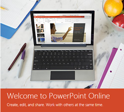 Slideshare alternative - powerpoint online