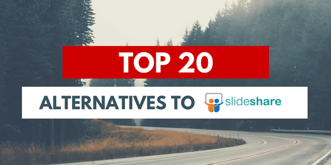 Slideshare alternatives to craete and share presentations online
