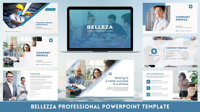 professional PowerPoint-template design corporate
