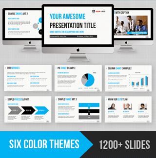 Professional powerpoint templates download for easy slide design ultimate business powerpoint template toneelgroepblik Choice Image
