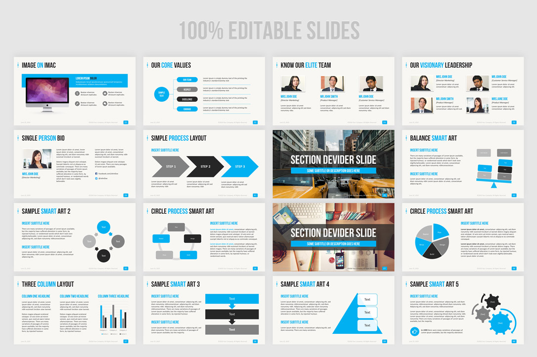 Amazingly Beautiful Business Presentation PPT Template You