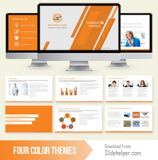 company presentation template for corporate profile designs