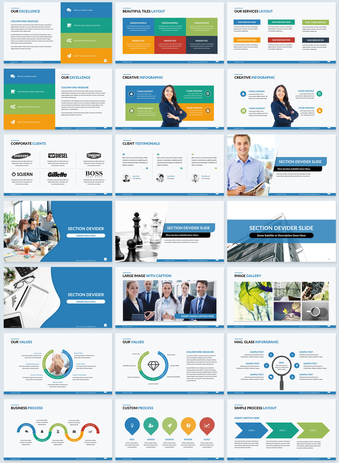corporate powerpoint design company