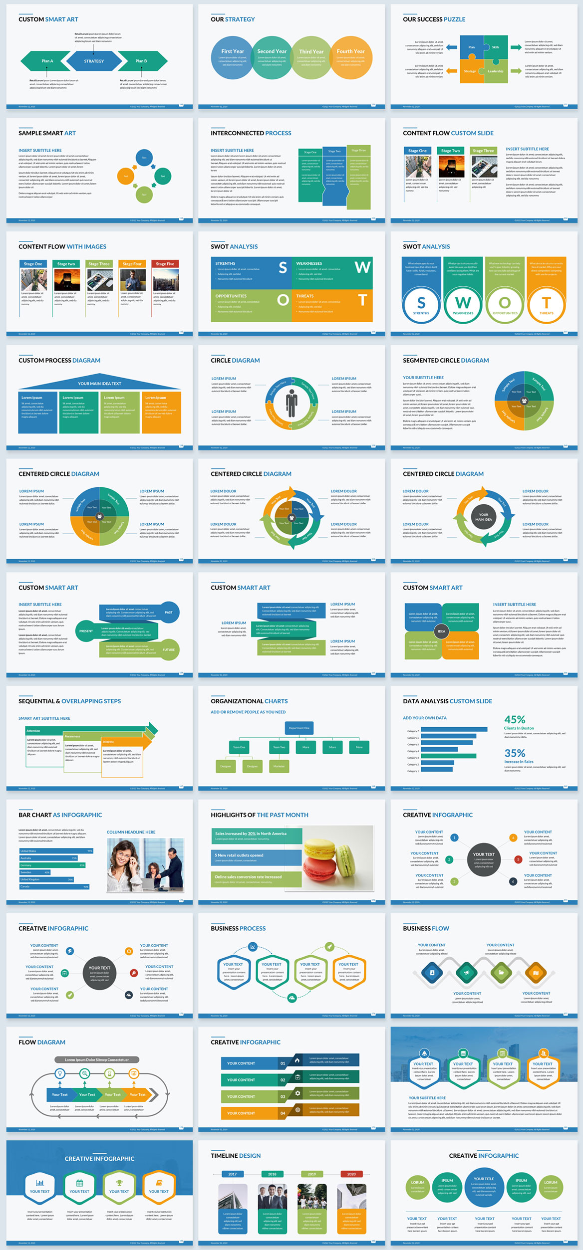 corporate slide template powerpoint