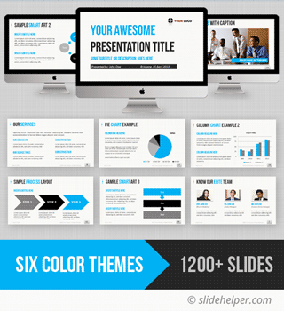 comtemporary professional powerpoint presentation template with ppt infographics slide designs