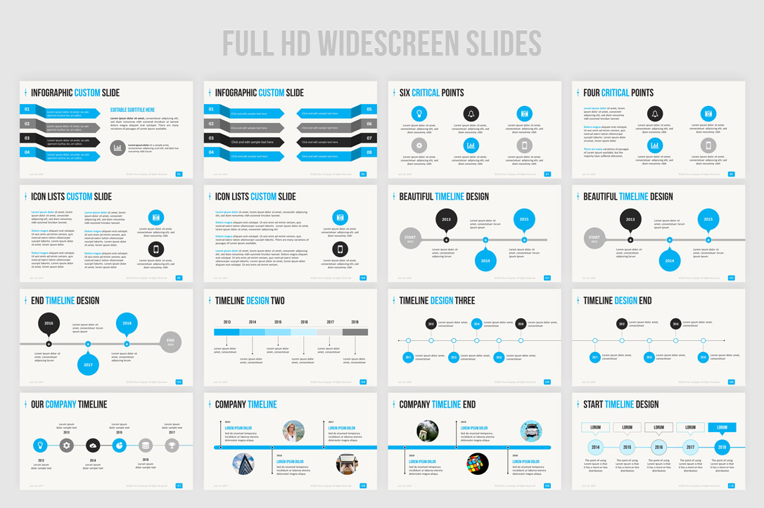 simple and professional ppt presentation templates in widescreen format